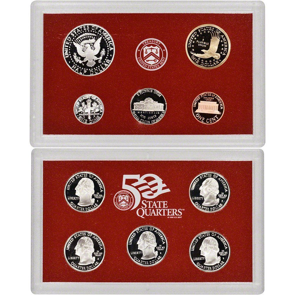 2003-S 90% Silver Proof Set United States Mint Original Government Packaging Box
