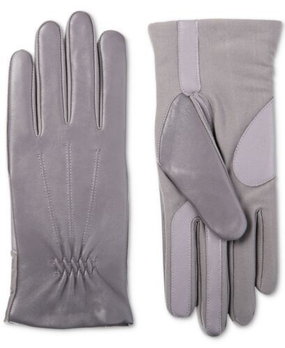 Primary image for Isotoner Signature Women's Sleek Heat Leather Nylon SmartTouch Gloves