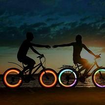 Fahrrad LED Speichenlicht 3 Beleuchtungsmodus Fahrradsicherheitswarnlich... - $17.82+