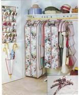 Closet Organizers Storage Wedding Gown Dress Suit Shoe Umbrella Bag Sew ... - $14.99