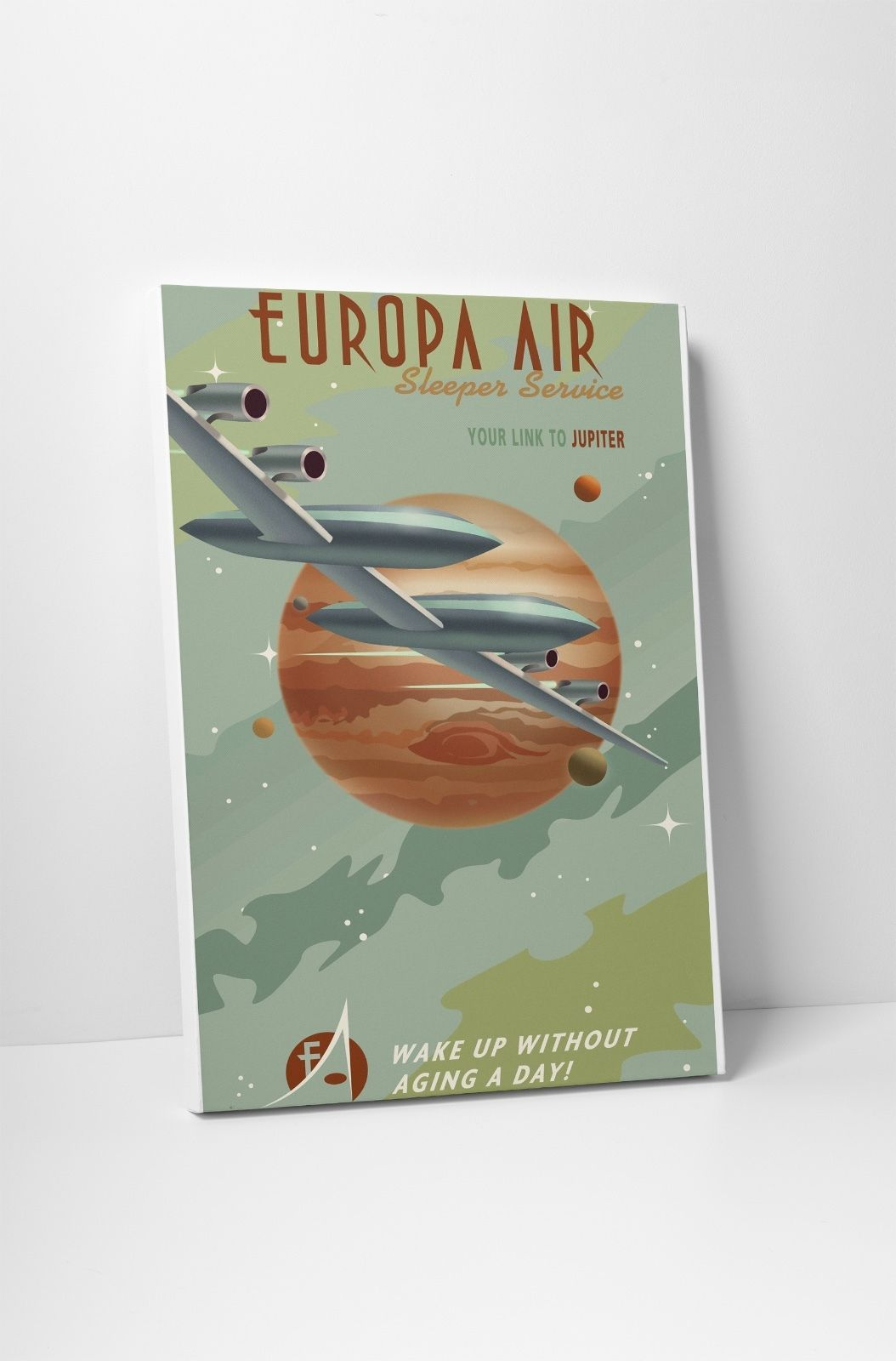 "Europa Air by Steve Thomas Gallery Wrapped Canvas 20""x30"" - $53.41"