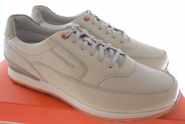 ROCKPORT V76861 CRAFTED CSC MUDGUARD MEN'S OFF-WHITE SHOES SZ 8XW(EX-WIDE) - $78.99