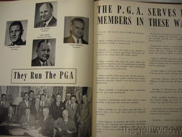 1951 Ryder Cup Pinehurst Program and Book of Golf by the PGA of America HC image 8