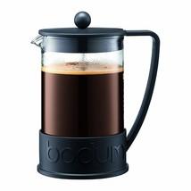 Bodum Brazil French Press Coffee Maker, 1.5 Liter, 51 Ounce, 12 Cup, Black - £24.53 GBP