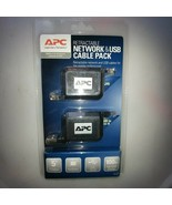 APC Retractable Network & USB Cable Pack - $32.68