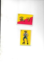 2 Dif Rare Nintendo 1990 Edition Zelda Sticker Cards Mint Topps Ireland Ltd - $5.20