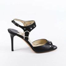 Jimmy Choo Studded Leather Ankle Strap Sandals SZ 36 - $205.00