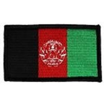 Afghanistan Flag 2 X 3 Embroidered Patch With Hook Loop - $18.04