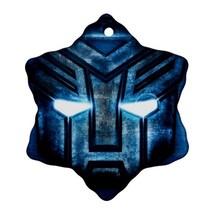 Transformers Procelain Ornaments (Snowflake) Christmas - $3.95