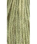 Green Apple (7013) 6 strand hand-dyed cotton floss Gentle Art Sampler Th... - $2.15