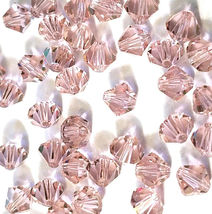 12pcs - 6mm Swarovski Crystal Faceted Bicone Beads - You Choose The Color image 6