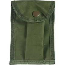 COMPASS POUCH ARMY GREEN Fits most popular sizes Slide lock A.L.I.C.E ke... - $5.95