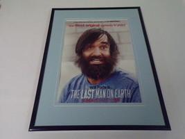 Last Man on Earth 2015 Framed 11x14 ORIGINAL Advertisement Will Forte Fox - $32.36