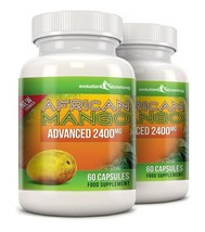 Pure African Mango Advanced 2400mg 120 Capsules - $32.49