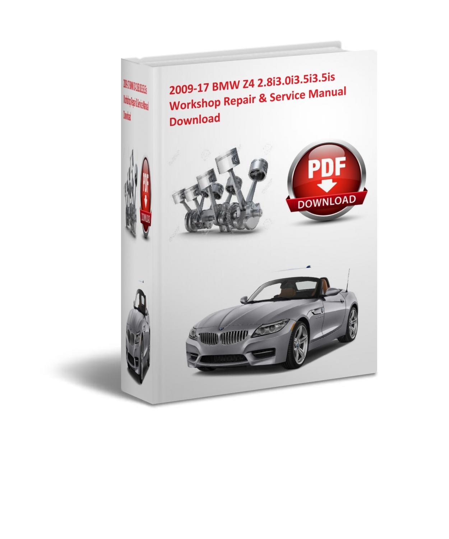 Bmw Z4 Manual: Bmw Z4 2009 2010 2011 Repair Manual On Pdf