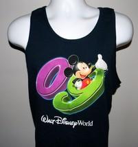 Men's Walt Disney World 09 Tank Top Shirt Large Navy Blue Mickey Mouse - $21.73