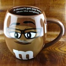 Ms. Brown M&M's World Brown Chocolate Barrel Bistro Coffee Mug - $21.73
