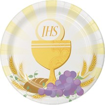 "Creative Converting 8 Count Sturdy Style Dinner Plate, 8.75"", Rise Above - £6.66 GBP"