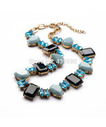Texture of Fresh Ladies Accessories Female Pendant Necklaces With Crystals - $28.53