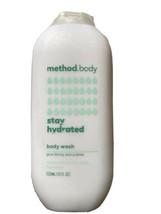 Method  Body  Body Wash Stay Hydrated 18 fl oz Give Thirsty Skin A Drink New - $17.99