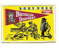 Beer Baseball Brooklyn Dodgers & Schaefer Beer 1957 National League Promo Patch  - $10.99