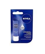 Nivea Lip Balm Original Care Soft And Smooth Lips 4.8 g - $9.10