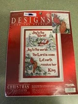 Designs For The Needle Joy to the World 319829 Cross Stitch Kit Leisure ... - $16.78