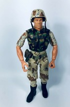 "GI Joe Military Soldier Hasbro 1996 Action Figure 12"" - $24.70"