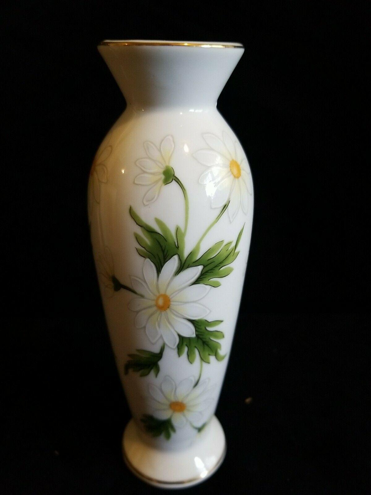 Lefton Vintage Daisy Bud Vase. Made In Japan. Marked Lefton 1367. - $10.19