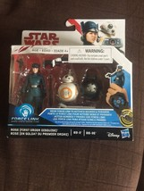 "Star Wars : TLJ - Rose & BB-8 & BB-9E  3.75"" Action Figure Force Link - $18.80"