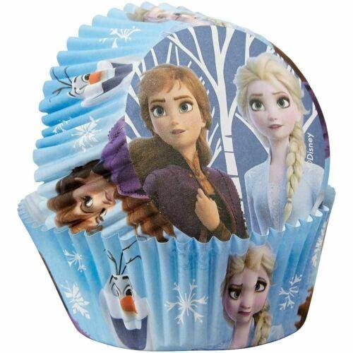 Disney Frozen 2 50 Baking Cups Party Cupcakes Treats Wilton - $3.95