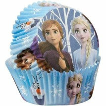 Disney Frozen 2 50 Baking Cups Party Cupcakes Treats Wilton - $3.95