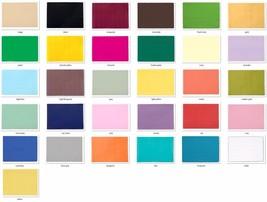 "75 Paper Placemats - place mats 10"" x 14"" dinner size 26 colors - $10.50"