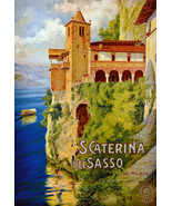 """11x14""""Poster on Canvas.Home Room Interior design.Travel Italy.Caterina.6555 - $28.05"""