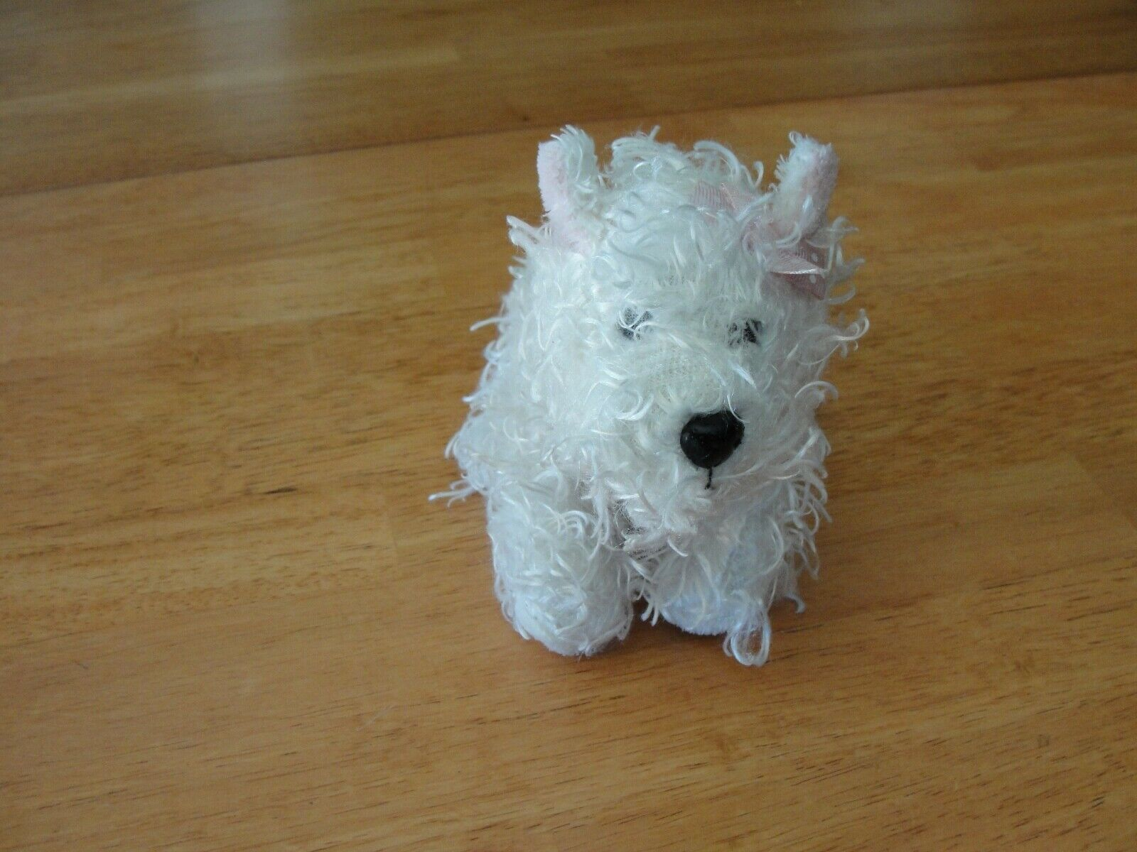 Primary image for GANZ Lil' WHITE TERRIER DOG PLUSH ANIMAL WEBKINZ with TAGs No Code