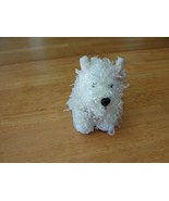 GANZ Lil' WHITE TERRIER DOG PLUSH ANIMAL WEBKINZ with TAGs No Code - $3.36