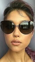 New FENDI FF 0017/S 7ROHA 58mm Silver Designer Women's Sunglasses Italy - $189.99