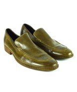 Cole Haan NikeAir Olive Brown Leather Loafer Dress Casual Shoes Mens 11.5 M - $48.50