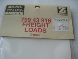 Micro-Trains #79943916 Freight Loads  3 Pack  Z-Scale image 2