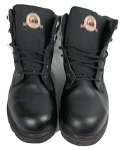 "Brahma Men Gus Steel Toe 6"" Work Boots Black S.13 Wide The Brand You Can... - $49.95"