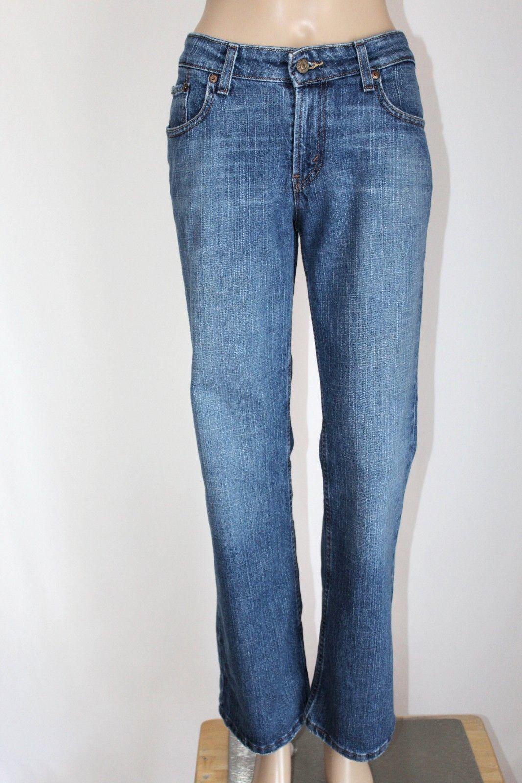 64f06278f43 LEVI'S 518 Junior Women's Size 11 Short SuperLow Boot Cut Stretch Jeans
