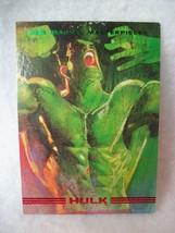 1993 Marvel Masterpieces Trading Card # 1 Hulk - $0.95