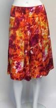 23rd Street Bright Multi-Color Lined Below Knee Skirt NWOT Sz 10 - $19.99