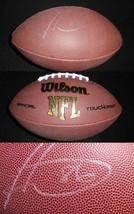 Hines Ward Signed Full Size Wilson NFL Football Steelers Georgia UGA - $112.19