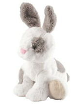 "NWT Carters Plush Toy Stuffed Animal White Brw Patches 9"" Rabbit Bunny Supersoft - $20.89"