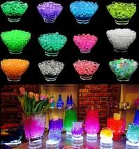 500pcs Water Aqua Crystal Round Beads Garden Table Centerpiece Vase Fill... - $4.77