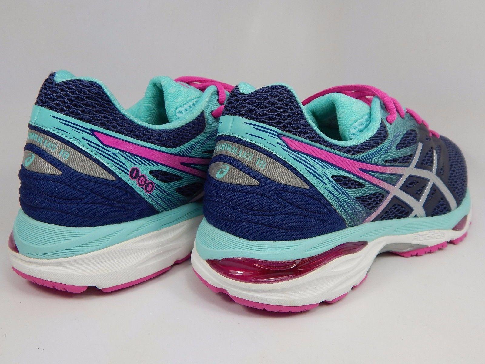 Asics Gel Cumulus 18 Women's Running Shoes Size US 9.5 M (B) EU 41.5 Blue T6C8N