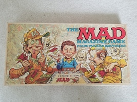 Vintage Parker Brothers The MAD Magazine Game- 1971- Very Good Condition! - $59.99