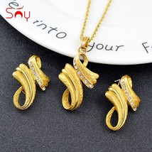 Sunny Jewelry Bohemia Jewelry Set For Women Earrings Necklace Pendant Hot Sellin - $21.57