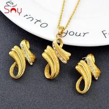 Sunny Jewelry Bohemia Jewelry Set For Women Earrings Necklace Pendant Ho... - $21.57